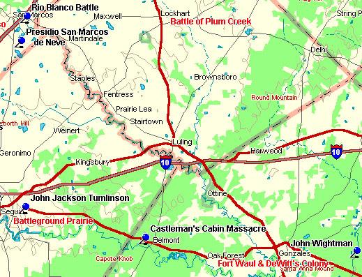 Plum Creek Map