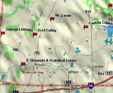 Hwy. 16S Map