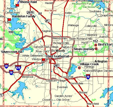 Tarrant County Map