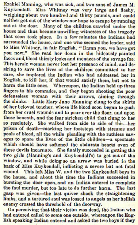 Ann Whitney story by WIlbarger