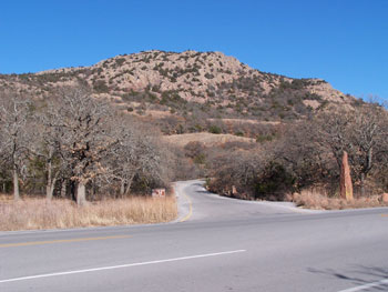 Picture of Entrance to Mount Scott