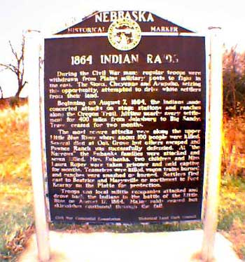 Picture of 1864 Indian Raid Marker