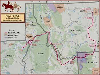 Nez Perce National Historical Trail