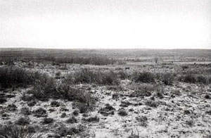 Picture of the site of Mackenzie's Fight on the North Fork of the Red