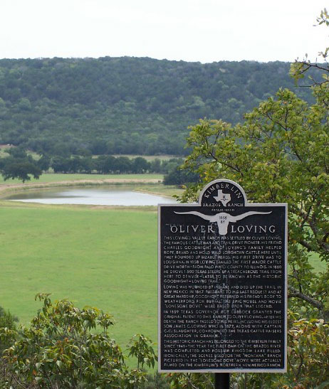 Picture of Marker at Oliver Loving Pasture