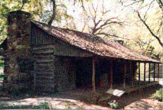 Isaac Parker's Cabin at the Log Cabin Village