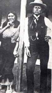 Picture of Quanah Parker and Wife