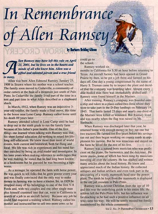 Allen Ramsey Picture