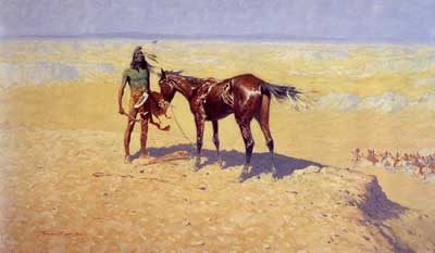 Frederic Remington's Ridden Down Picture