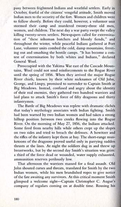 Rogue River War Story