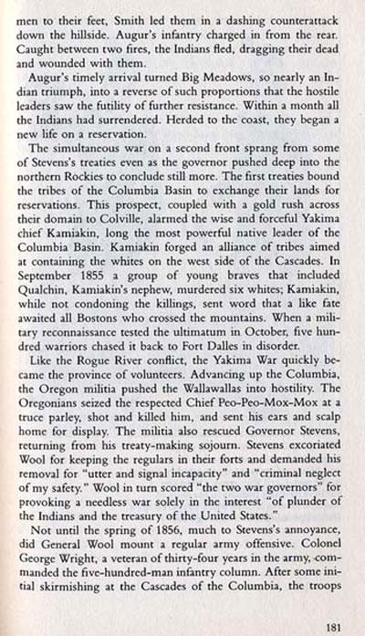 Yakima War Story