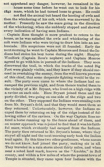 Captain S.P. Ross Slays the Noted Chief