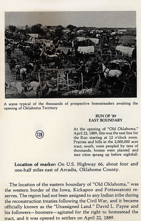 Oklahoma Territory Picture
