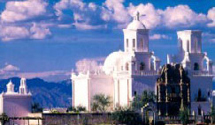 Picture of San Xavier Mission