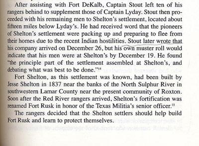 Story of Fort Shelton
