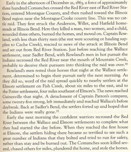 1863 Comanche Raid