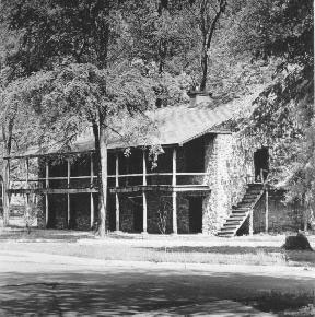 Picture of the Old Stone Fort in Nacogdoches