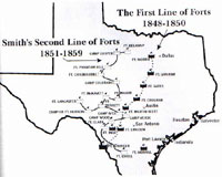 First Line of Forts Map