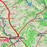 Fort Nashville Map