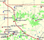 Thumbnail Map of Northern View of Jacksboro