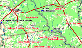 Fort Houston Map