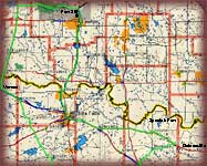 Red River Road Trip Map