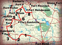 Blood Trails Map