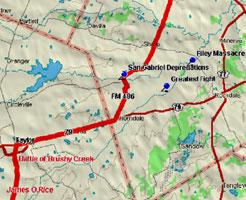 San Gabriel Map