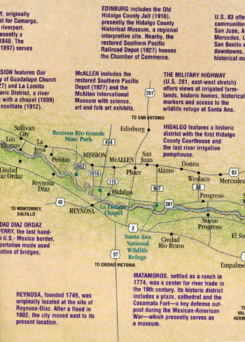 Historical Map of the Rio Grande Valley