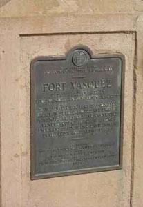 Picture of Fort Vasquez Monument
