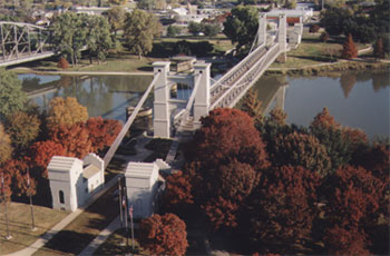 Bridge Over Brazos in Waco Picture