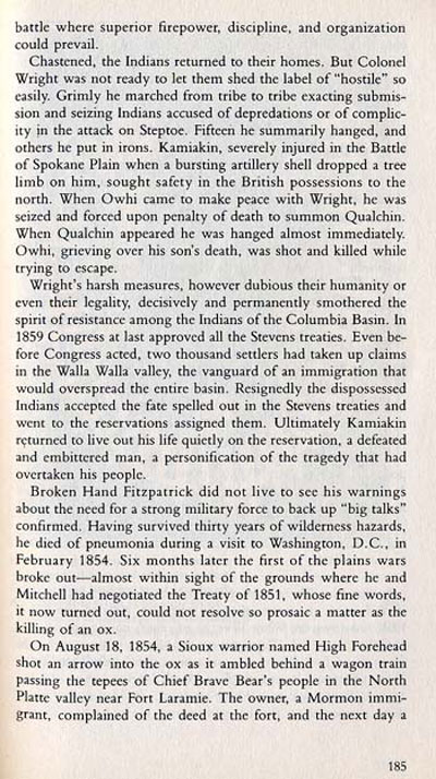 Fort Walla Walla Story