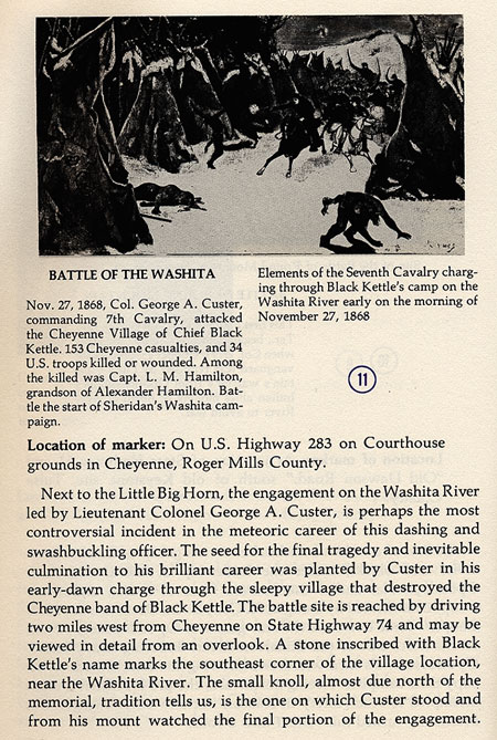 Battle of the Washita Picture