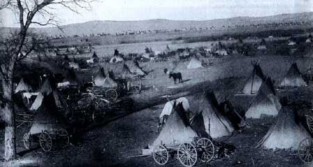 Picture of Wounded Knee Battlesite