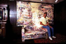 Artist Rick Steed